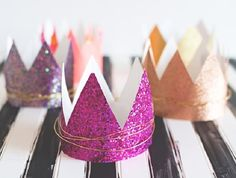 Crowns and tiaras are perfect for fancy dress and birthday parties. Check out our list of 40 DIY crown and tiaras that you can create for your next party.