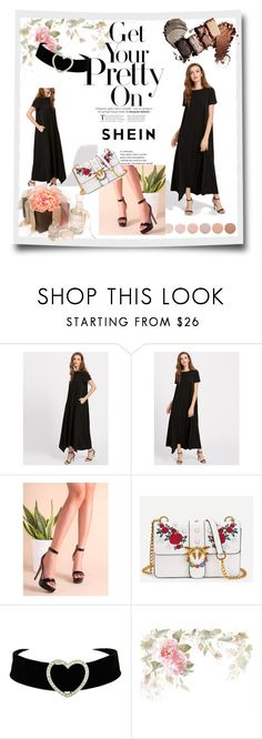 """""""Get Your Pretty On Rose Garden at dark maxi night"""" by mochaicno ❤ liked on Polyvore featuring Deborah Lippmann, Cadeau, contest, dress, women and shein"""