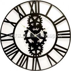 Kovové nástenné hodiny