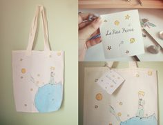 Le Petit Prince Tote by Ajwitparkin on Etsy