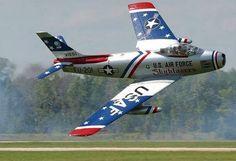 F-86 flown by Dale Snodgrass
