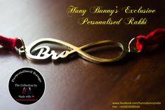 Personalised Name Rakhi #personalised #personalisedbro #love