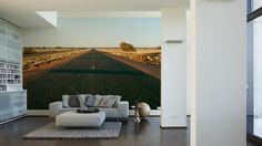 Architects Paper Fototapete Road of Nowhere (XL) 470061; simuliert auf der Wand