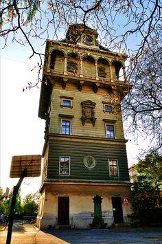 water tower . letna . prague