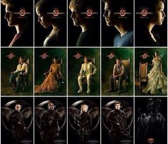 The Hunger Games~Catching Fire~Mockingjay