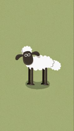 Cartooned Shaun the Sheep