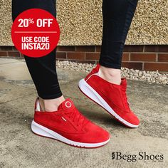 Shop our Women's Geox Shoes from Begg Shoes with our top rated customer service. Red Trainers, Sports Trainers, Bags 2014, Sports Luxe, Athleisure, Latest Trends, Sneakers Nike, Footwear