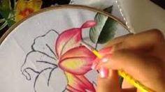 Resultado de imagen para imagenes de girasoles para pintar en tela