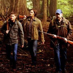 They look so BA. And adorable. All at once. #Supernatural