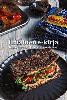 Sandwiches, Snacks, Hummus, Recipes, Creativity, Food, Appetizers, Essen, Eten