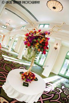 Sneha Ajay, Indian Wedding, St. Petersburg, Vinoy, large mandap, chiavari chairs, Suhaag Garden, Florida wedding decor and design vendor, ce...