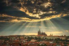 Boží oko nad Prahou - Foto: Richard Horák