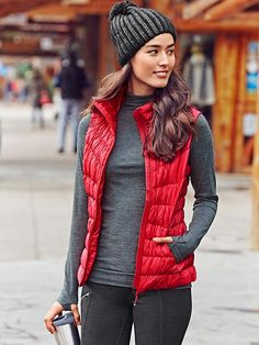 Love this super lightweight down vest