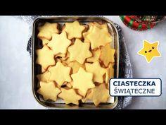 CIASTECZKA ŚWIĄTECZNE | Kruche ciasteczka maślane na święta Bożego Narodzenia i nie tylko (łatwe!) - YouTube Waffles, Tray, Breakfast, Christmas, Videos, Food, Youtube, Morning Coffee, Xmas