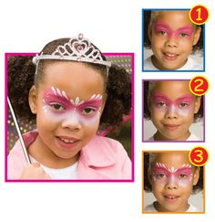 Snazaroo™ Face Painting: Princess #halloween #facepainting