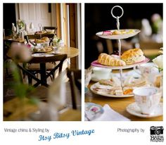 Afternoon tea party photoshoot at the Castle Inn, Hornby.
