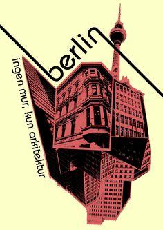 Berlin Bauhaus poster by Warpeddhpc on deviantART