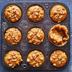 Banana Protein Muffins Make Ahead Breakfast, Breakfast Bake, Breakfast Recipes, Diet Breakfast, Brunch Recipes, Breakfast Ideas, Lemon Cranberry Muffins, Banana Protein Muffins, Gluten Free Peach
