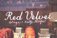 Such a beautiful vintage shop