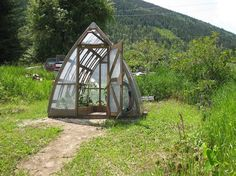 Cedar Bow-Roof Greenhouse, Back by demand!