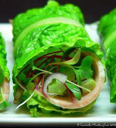 Wrap healthy foods