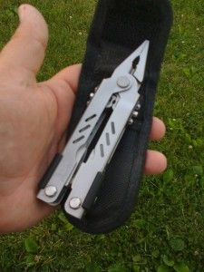 My Gerber multitool. I don't go in the woods without it.
