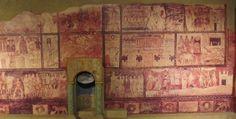 Distribución general de las escenas de la sinagoga de Dura Europos