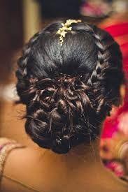 indian bridal hairstyles low bun - Google Search