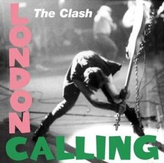 18 The Clash London Calling The best record to come out of punk. In this double album, The Clash fused their rockabilly roots with their love of reggae,This was the album that legitimised punk into the rock canon. Its iconic cover, and songs abou Iconic Album Covers, Greatest Album Covers, Classic Album Covers, Cool Album Covers, Punk Rock, Rock N, Live Rock, Rock And Roll, London Calling The Clash