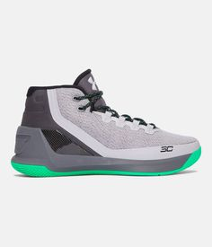 huge discount 136e3 e1aa7 Men s UA Curry 3 Basketball Shoes, GRAY MATTER, zoomed image Shoe  Department, Basketball