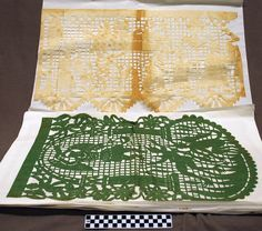 """""""Papel Picado"""" 20th Century Mexican cut paper banners. 