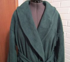 Men's Custom Made Fleece Wrap Around Robe by PizzelwaddelsApparel, $95.00
