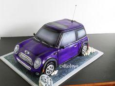 Mini Cooper cake cakes Pinterest Mini cooper cake Car cakes