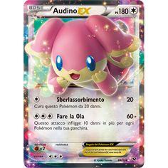 """Carte in primo piano   """"Espansione XY - Destini Incrociati del GCC Pokémon"""""""