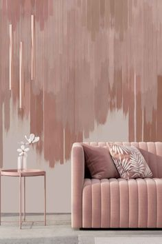CaraSaven---FallingforYou---Interior Home Bedroom, Bedroom Wall, Bedroom Decor, Paint Colors For Home, House Colors, Golden Wall, Focal Wall, Interior Decorating, Apartments Decorating