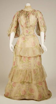 Lovely 1902-03 French Gown.