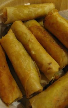 Laotian Egg Rolls - These are like CRACK, seriously!!