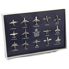Are you looking for the defence gifts? Shop the RAAF Aircraft Lapel Pin Set In Gift Box for a good price. Australian Defence Force, Lapel Pins, Aircraft, Box, Gifts, Aviation, Snare Drum, Presents, Planes