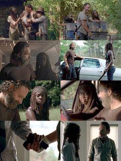i believe in rick grimes — rick & michonne; season 9 bonus: there's a new. Walking Dead Show, Walking Dead Series, Rick And Michonne, Rick Grimes, Bwwm, Daryl Dixon, Beautiful Family, It Cast, Nova