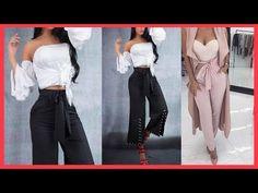 Los más populares y usados en esta temporada son los pantalones anchos, joggers, palazzo y culottes. Otras de las tendencias que más han sobresalido este año son los Spring Summer, Beauty Secrets, Capri Pants, Outfits, Fashion, Wide Pants, Fashion Pants, Fashion Clothes, Fall Outfits