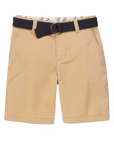 Gymboree Everyday Favorites Twill Cargo Shorts Blue Size 6 7 8 MSRP $27 NWT