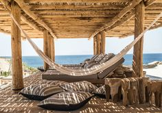 Hotel Scorpios Mykonos - hamacas de exterior