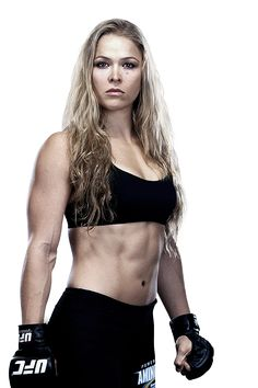 """Rowdy"" Ronda Rousey - Official UFC® Fighter Profile - she is a role model for girls!"