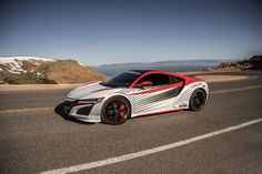 cool 2017 Acura NSX – Pikes Peak official pace car (5) Check more at http://www.cars.onipics.com/2017-acura-nsx-pikes-peak-official-pace-car-5/