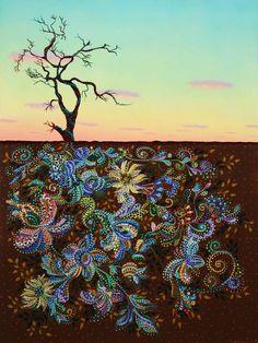 "Saatchi Art Artist Erika Pochybova; Painting, ""Contented"" #art"