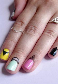 cuticle tattoos nail art
