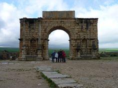 Volubilis, Arco de Triunfo.