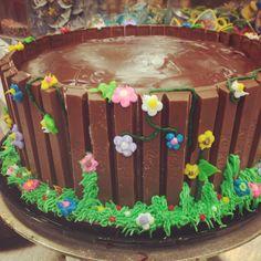 Kit Kat Cake made by Samantha