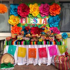 """119 Likes, 3 Comments - Itzel Party Creations! (@itzel_party_creations) on Instagram: """"Fiesta theme birthday party #Fiesta #MexicanFiesta #FiestaTheme #ItzelPartyCreations"""""""