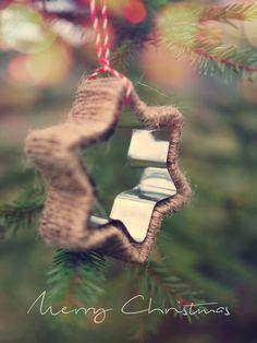 Cookie Cutter Ornament / joulukoriste piparimuotista